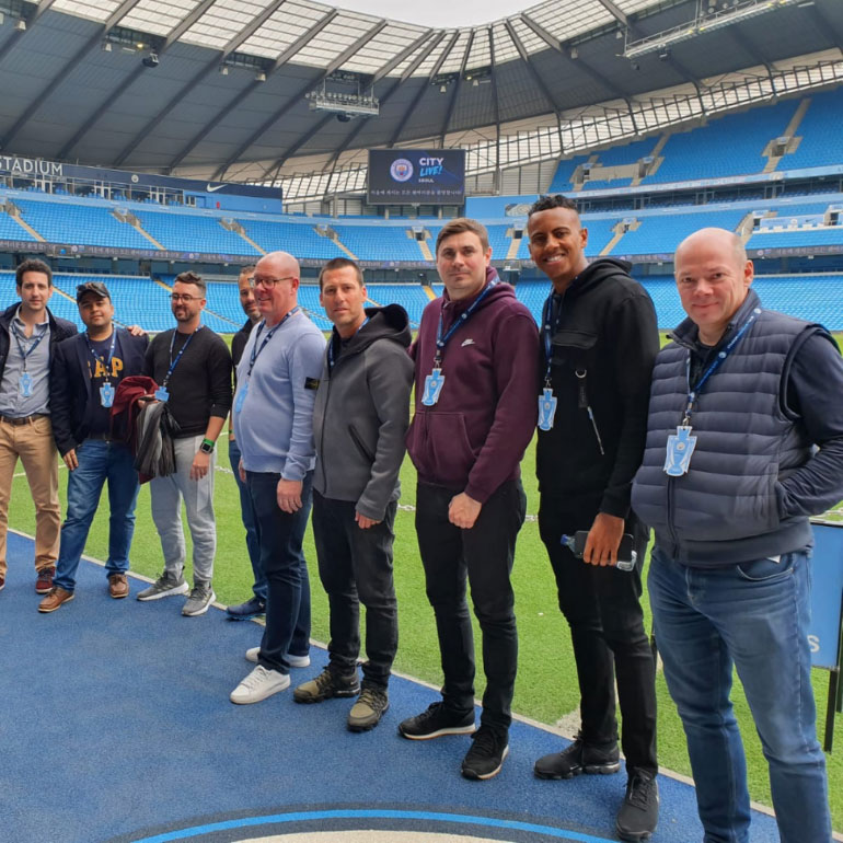 Stadium Tour – On the Pitch